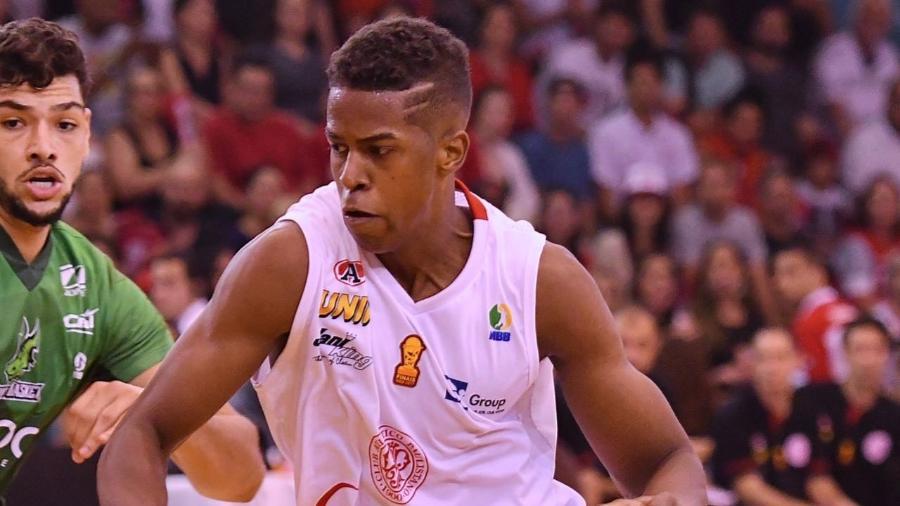 Georginho, armador do Paulistano, é o único brasileiro bem cotado no draft de 2017 da NBA - LNB/Divulgação