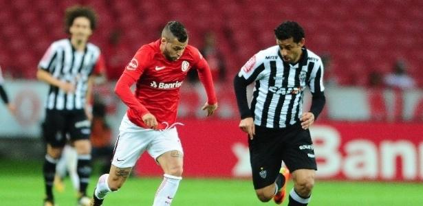 Fred voltou ao time titular do Atlético-MG no triunfo sobre o Inter, pela Primeira Liga