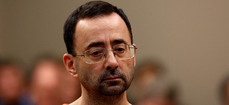 """Caso do médico Lawrence """"Larry"""" Nassar, nos EUA, trouxe mudanças na política da ginástica australiana - Jeff Kowalsky/AFP"""