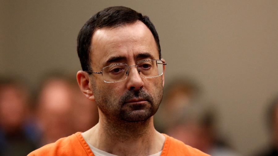 Larry Nassar deve passar o resto da vida na prisão - Jeff Kowalsky/AFP