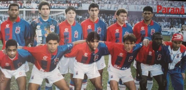 Carille se sagrou campeão estadual pelo Paraná em 1996: reencontro na Vila Capanema - Reprdução