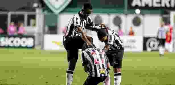 Luan, Cazares e Otero - Bruno Cantini/Atlético-MG - Bruno Cantini/Atlético-MG