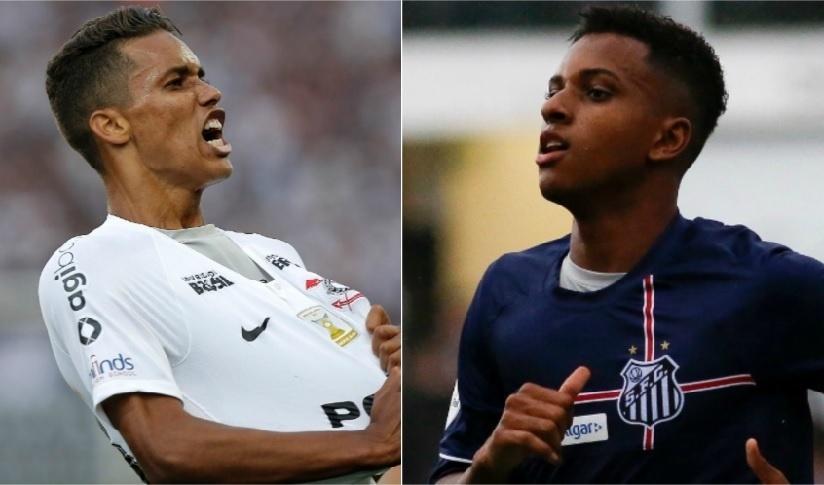Duelo Pedrinho x Rodrygo expõe posturas corintiana e santista com promessas  - 06 06 2018 - UOL Esporte 598f71e31d09f