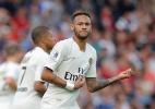 Neymar xinga companheiro, mas cresce com Mbappé e PSG vira fora de casa
