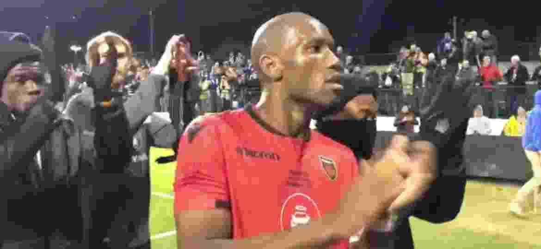 Drogba agradece aos torcedores depois da derrota no jogo da última quinta-feira - Reprodução/Facebook