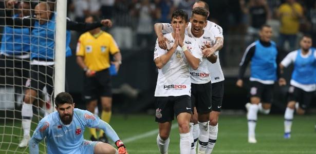 Mateus Vital marcou o gol da vitória do Corinthians contra o Vasco no último sábado - FELIPE RAU/ESTADÃO CONTEÚDO