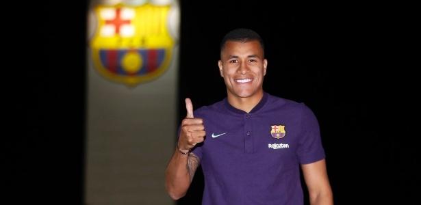 Murillo vem para completar o elenco do Barça, que sofre com lesões na zaga - Divulgação/FC Barcelona