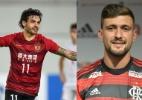 Goulart no Palmeiras ou Arrascaeta no Fla? Blogueiros falam quem é o melhor