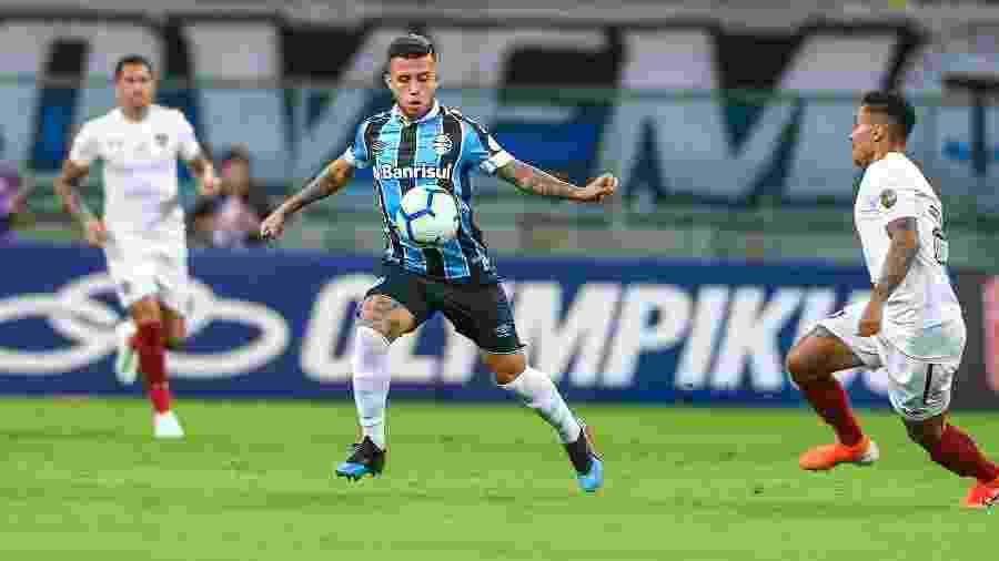 Matheus Henrique foi chamado para disputar Torneio de Toulon, na França e vai desfalcar o Grêmio - Lucas Uebel/Grêmio