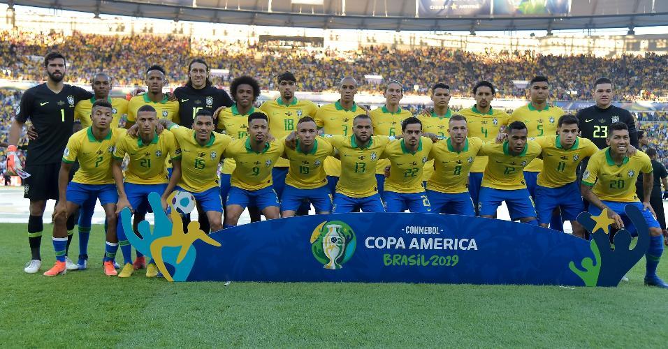 Seleção brasileira na final da Copa América 2019