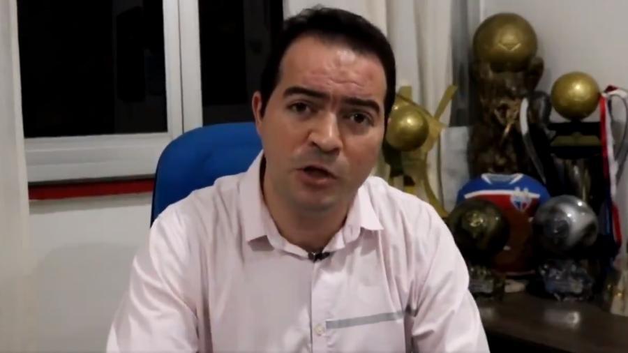 Marcelo Paz, presidente do Fortaleza - Reprodução/Twitter