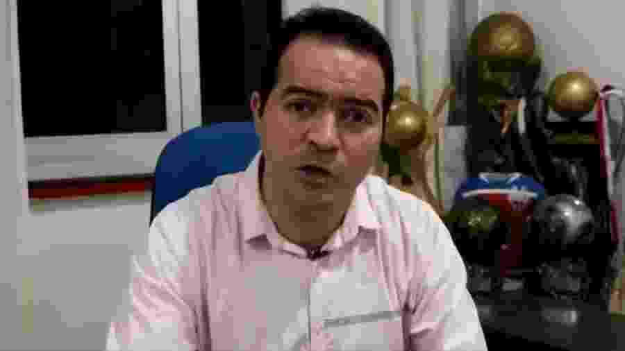 Marcelo Paz, presidente do Fortaleza, reclamou publicamente da CBF - Reprodução/Twitter
