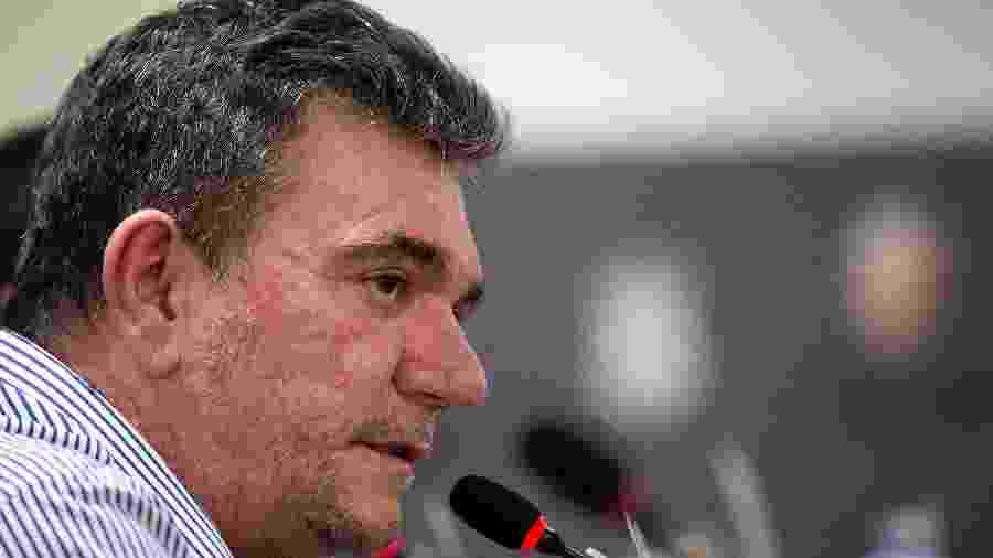 Andrés Sanchez (foto) pediu a palavra e reforçou à CBF o desejo dos clubes de manter a disputa do Brasileiro em 38 rodadas - Daniel Vorley/AGIF