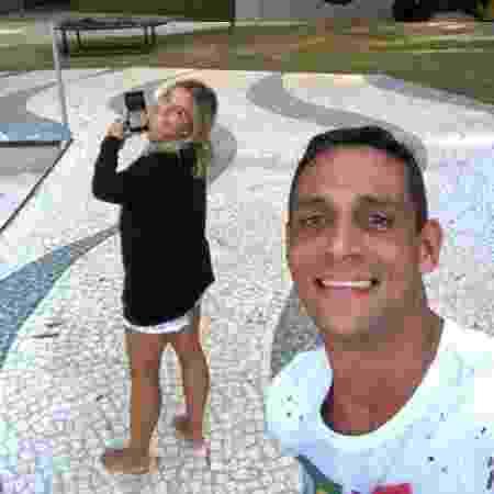 Andre Luiz e Milene Domingues - Reprodução/Instagram - Reprodução/Instagram