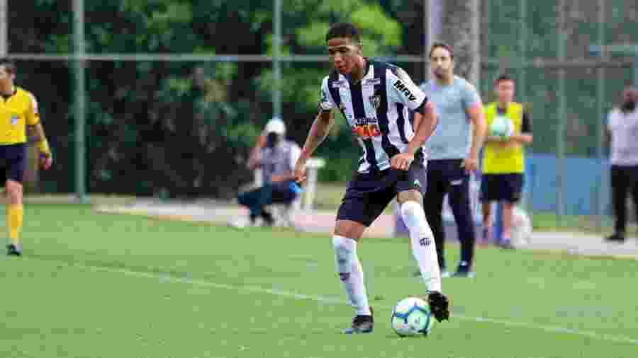 Micael, lateral esquerdo do Atlético-MG - Divulgação/Atlético-MG