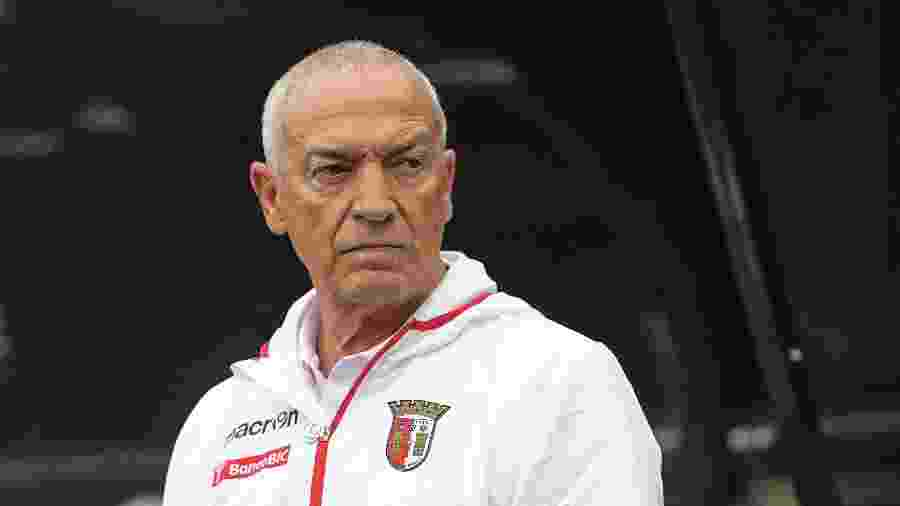 Jesualdo Ferreira, técnico do Braga em 2013: português fechou com o Santos para temporada 2020 - Steve Drew - EMPICS/PA Images via Getty Images