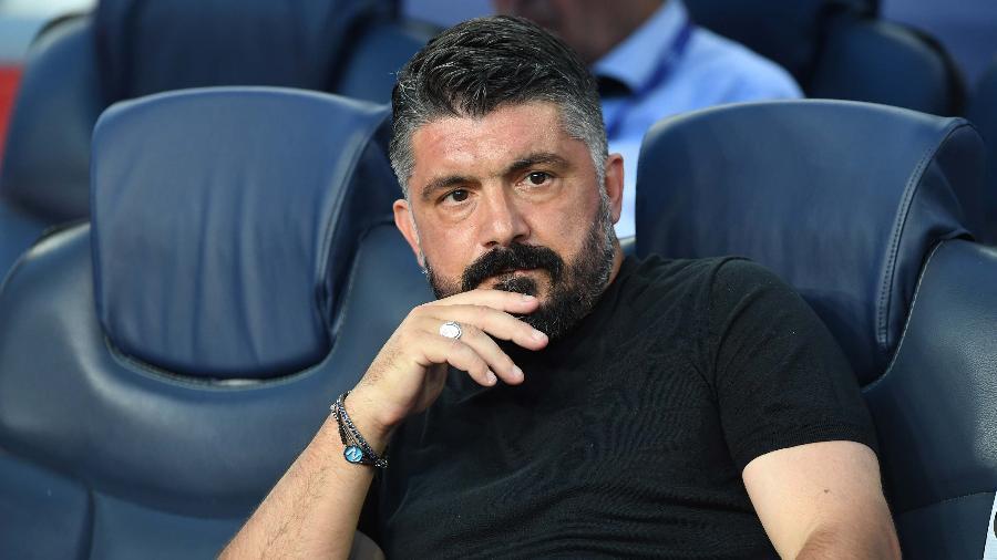 Gattuso deixou a Fiorentina sem ter comandado uma partida sequer - SSC NAPOLI via Getty Images