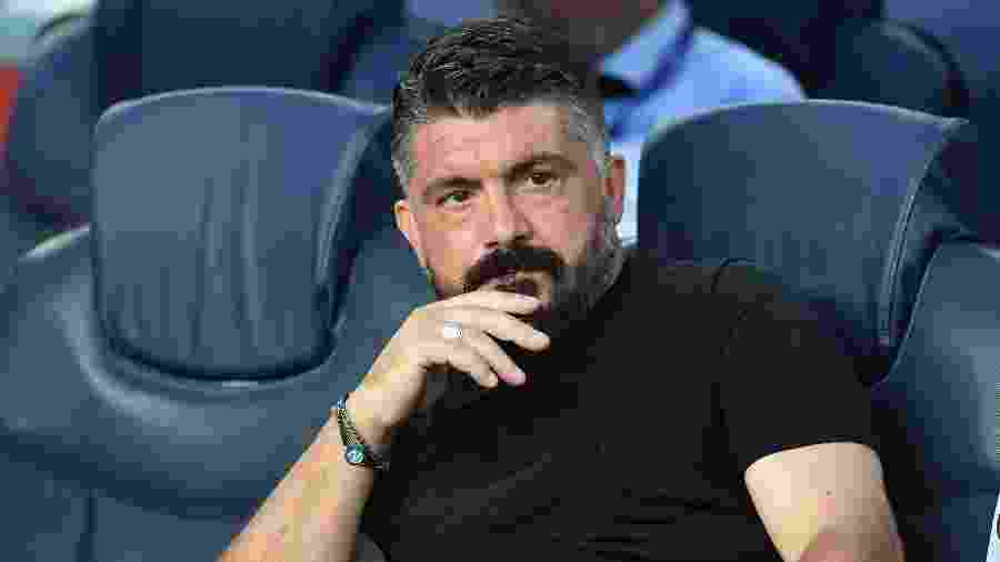 Gattuso, técnico do Napoli - SSC NAPOLI via Getty Images