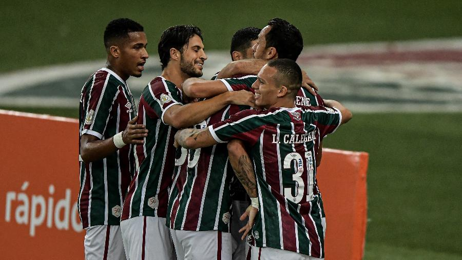 Jogadores do Fluminense - Thiago Ribeiro/AGIF