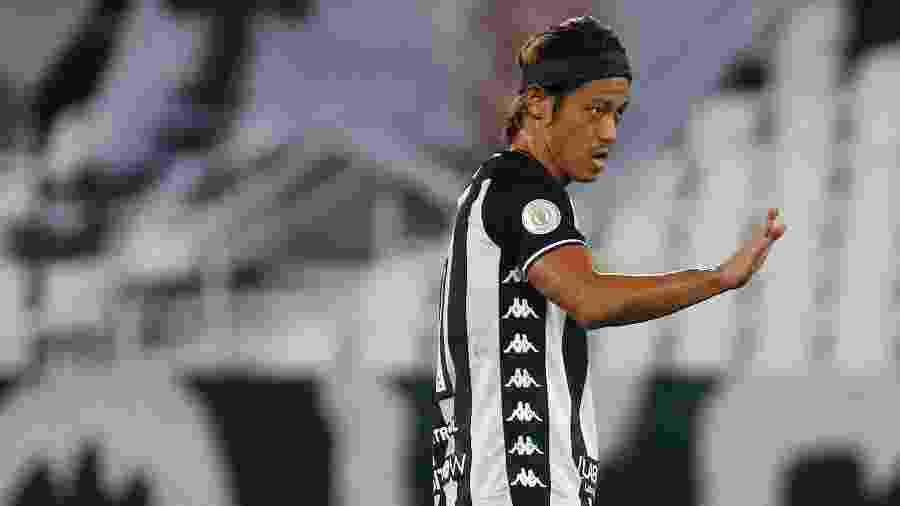 Honda rescindiu com o Botafogo no fim do ano passado - Vitor Silva/Botafogo