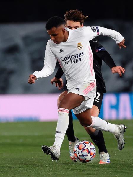 Rodrygo em ação pelo Real Madrid - JuanJo Martín/EFE