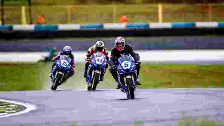 Ex-jogador Diego Lugano participa de corrida de moto em Goiânia - LZ Photos/Divulgação - LZ Photos/Divulgação