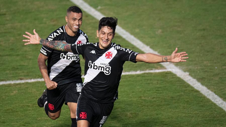 Cano foi o melhor em campo e abriu o placar para o Vasco no primeiro tempo - Jorge Rodrigues/AGIF