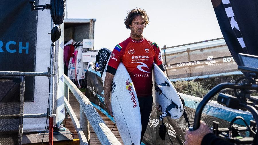 Jordy Smith, surfista sul-africano, abriu mão de disputar as Olimpíadas de Tóquio - Matt Dunbar/World Surf League via Getty Images