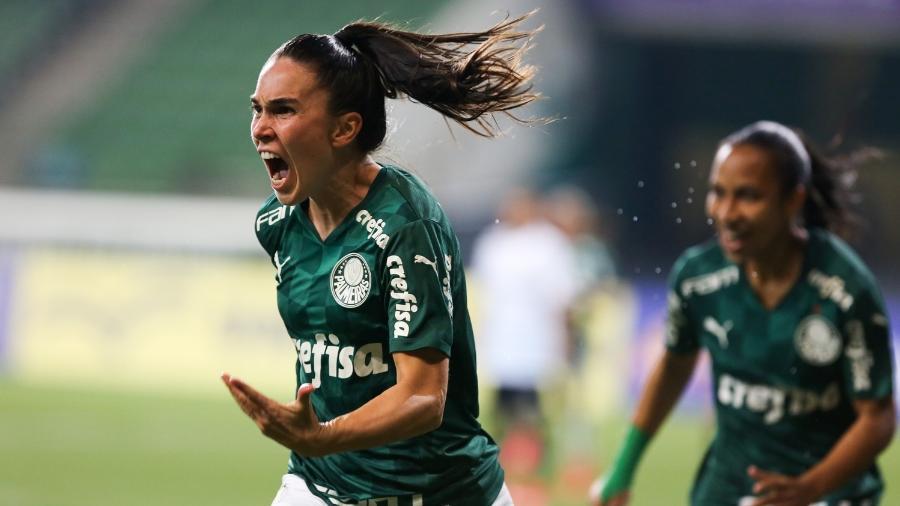 Zagueira argentina Agustina é um dos destaques do Palmeiras no Brasileirão feminino - Fabio Menott