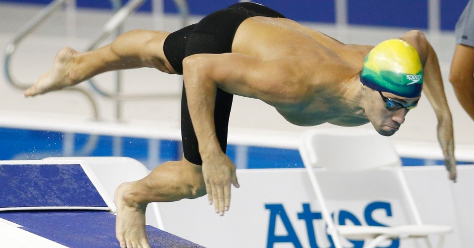 Léo de Deus participa das eliminatórias dos 400 m livres do Pan