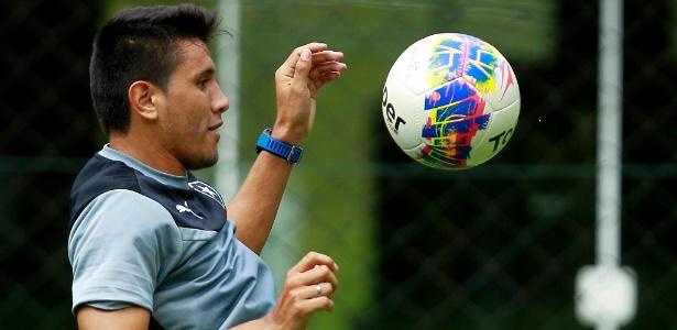 Argentino Yaca Nunez tem sido muito criticado pela torcida do Botafogo - Victor Silva/SSPress