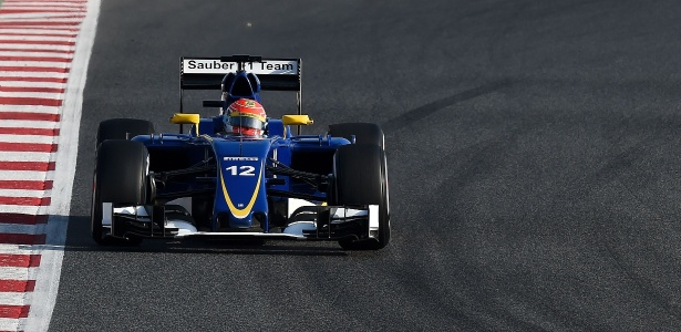 Nasr andou pela última vez com o carro com o qual estreou na F-1 - Josep Lago/AFP Photo