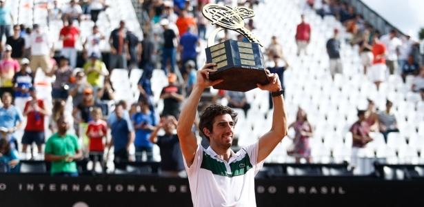 Cuevas venceu dois torneios seguidos no Brasil - Brasil Open/Divulgação