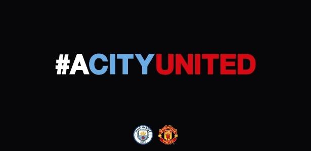 City postou uma foto em seu Twitter pedindo união após ataque