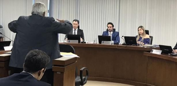 Eurico Miranda se exaltou durante julgamento do Vasco no STJD