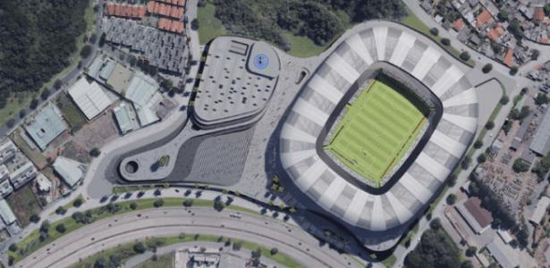 Atlético-MG construirá estádio até 2020 no bairro Califórnia, zona oeste de BH