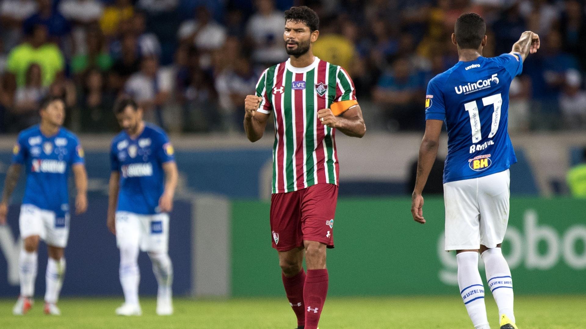 Cruzeiro e Fluminense se enfrentam no Mineirão