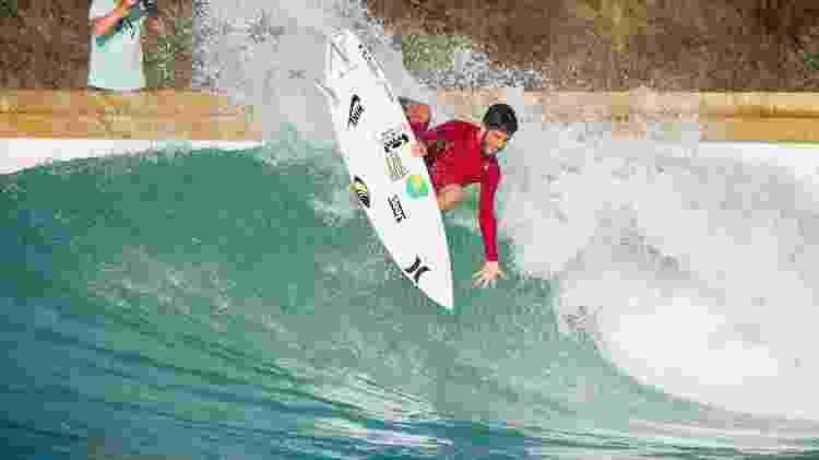 Filipe Toledo - Divulgação/Wavegarden - Divulgação/Wavegarden