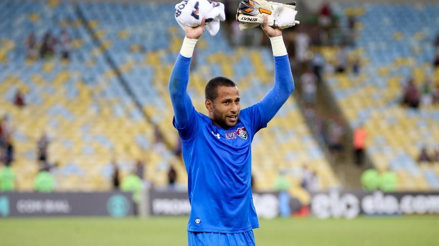 Rodolfo foi pego em exame antidoping realizado após partida contra o Atlético Nacional, pela Sul-Americana - Lucas Merçon/Fluminense