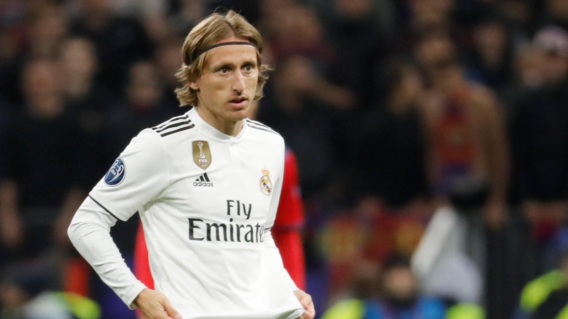 Modric entrou no segundo tempo da partida contra o CSKA
