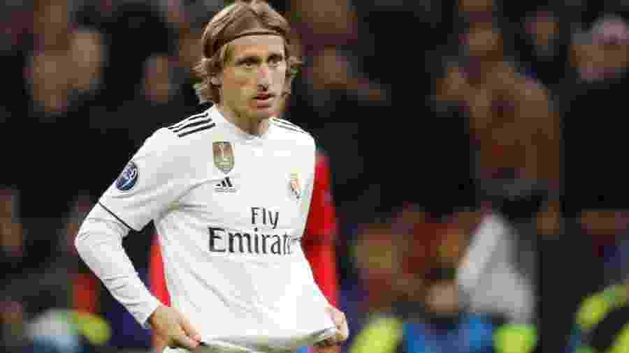 2.out.218 - Modric em jogo contra o CSKA pelo Real Madrid - REUTERS/Tatyana Makeyeva