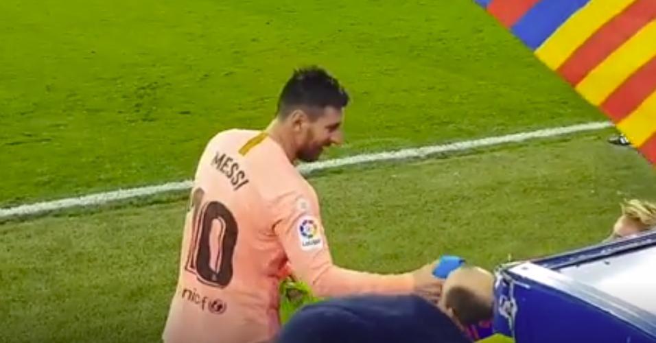 Messi presente Barcelona