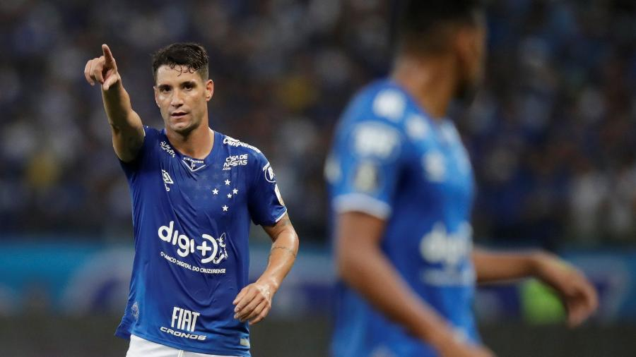 Thiago Neves pode voltar ao elenco do Cruzeiro em 2020 após saída de Zezé Perrella - REUTERS/Ueslei Marcelino
