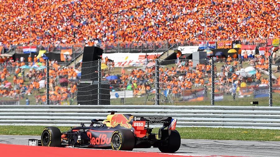 Max Verstappen no GP da Áustria de Fórmula 1 em 2019 - Joe Klamar/AFP