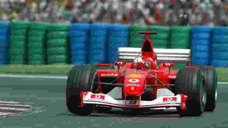 Ferrari 2002 - Jed Leicester/EMPICS via Getty Images - Jed Leicester/EMPICS via Getty Images