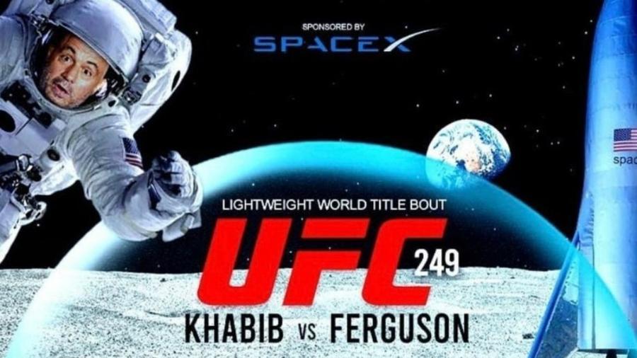 Dana White brinca com veto a UFC 249 em NY e diz que fará evento na Lua - reprodução/Instagram/Dana White