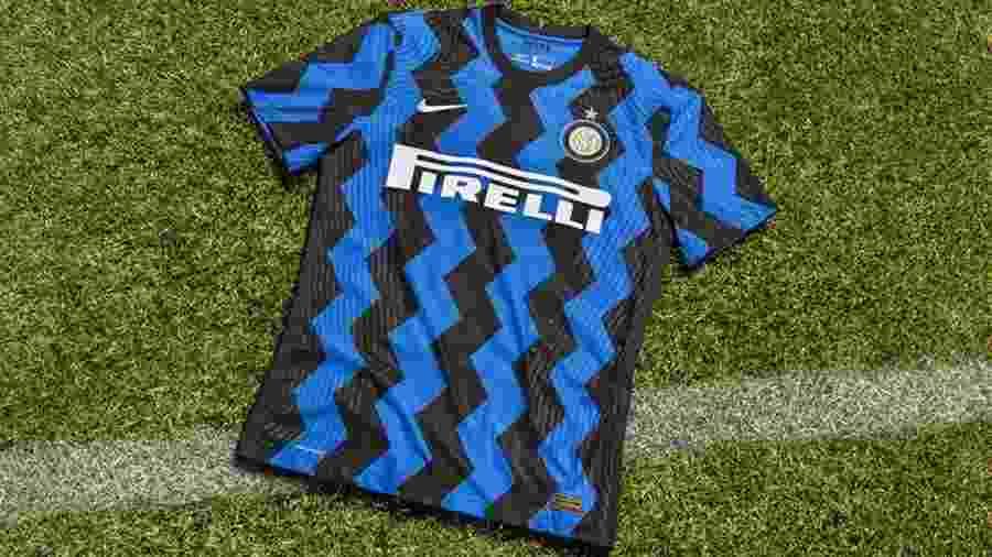 Nike e clube informam que desenho foi inspirado no trabalho de designers da década de 1980 - FC Internazionale/Divulgação
