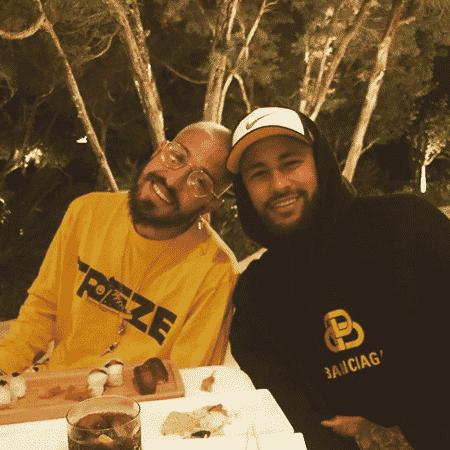 Neymar e Vinicius Martinez costumam compartilhar fotos juntos em suas redes sociais - Reprodução/Instagram/@martinezvini