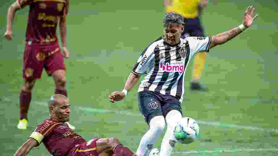 Zaracho está na lista de pré-convocados para jogos da Argentina nas Eliminatórias 2022 - Bruno Cantini/Atlético-MG