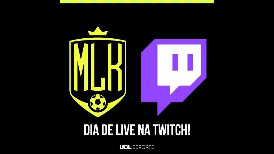 Futebol Muleke - Chamada para Twitch - Arte/UOL